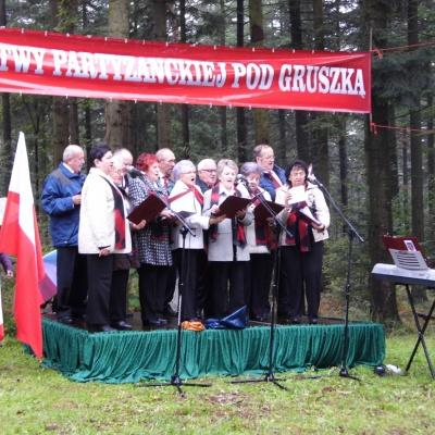 Obchody 73 rocznicy bitwy pod Gruszką - 2017